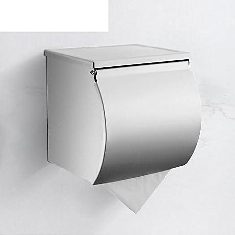 cajas de papel higiénico de aluminio espacio/cassette de papel higiénico impermeables/bandeja