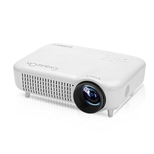Exquizon 5018D - Proyector LED Multimedia 1280x800P (5.8