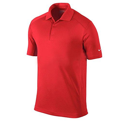 NIKE Herren Polohemd Victory Mehrfarbig - Light Crimson-White