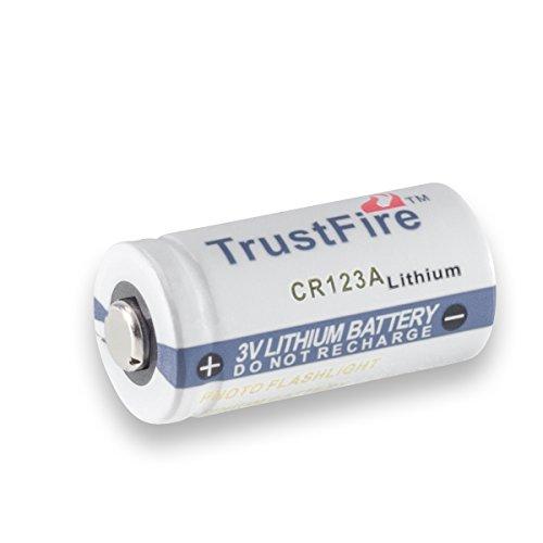 Preisvergleich Produktbild CR123A Batterie Taschenlampe LED Warnleuchte