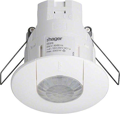 HAGER EE816 - DETECTOR PRESENCIA IP41 360º SALIDA DALI/DSI