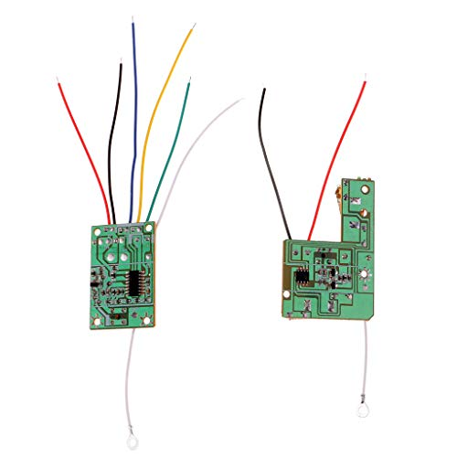 SM SunniMix 4CH Remote Controller Receiver Sender Board with Antenna for RC Cars Sm Sender