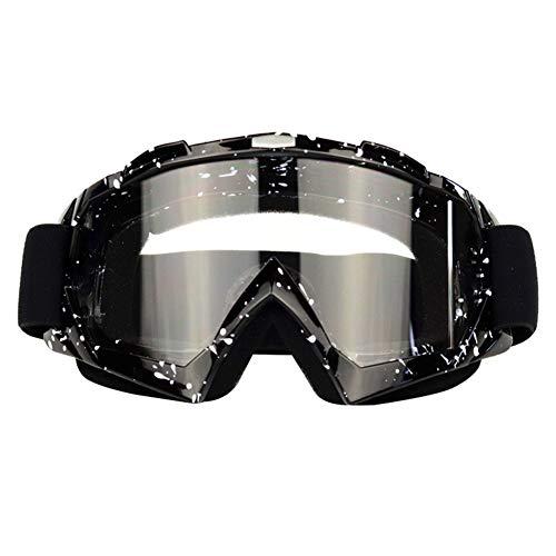 MSYOU - Gafas de esquí, Equipamiento de Motocicleta, Gafas de esquí, Gafas de esquí, Casco, Gafas de conducción al Aire Libre, Color #2, tamaño 20 * 10