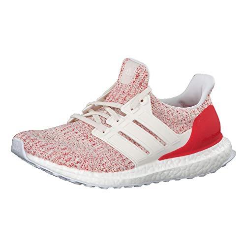 adidas Damen Ultraboost W Laufschuhe, Weiß Chalk White/Active Red, 39 EU