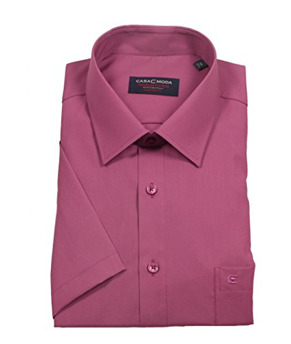 CASAMODA Herren Freizeithemd 008070 Violett (Pflaume 950)