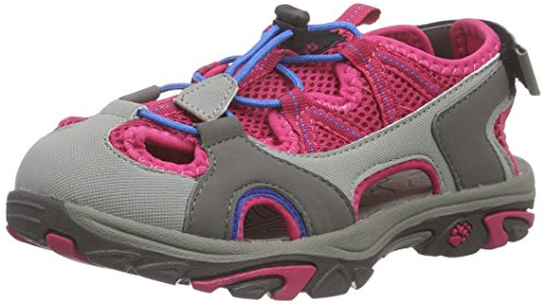 Jack Wolfskin Unisex-Kinder Lakewood Cross K Sport-& Outdoor Sandalen, Pink (Azalea red 2081), 36 EU -
