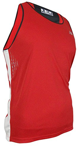 New Balance Men 's Big & Tall Ice Tech Impact Shirt Tank, Herren, Rot - Tango Red (New Balance Herren Frühling)