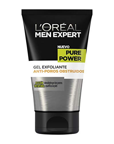 L'Oréal Paris Men Expert Pure Power Limpiador Exfoliante