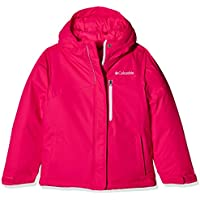 Columbia Alpine Free Fal Chaqueta, niñas, Rosa (Punch Pink), L