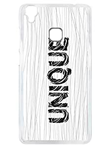 Vivo V3 Max Back Cover - One In A Million - Unique - Typography - Designer Printed Hard Case with Transparent Sides