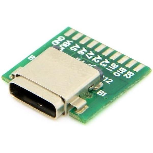 Jser Diy 24 Pin Usb 3 1 Typ C Stecker Und Buchse Elektronik