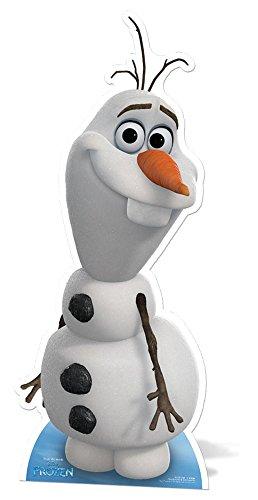 empireposter Disney Frozen - Die Eiskönigin - Schneemann Olaf Pappaufsteller Standy - ca 89 cm