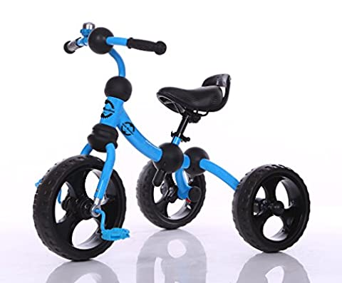 Little Bambino Kids Tricycle For Toddler Age 3-6 Year Old Bike Trike n Ride Blue