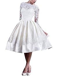 Suchergebnis Auf Amazon De Fur Brautmode Standesamt Midi