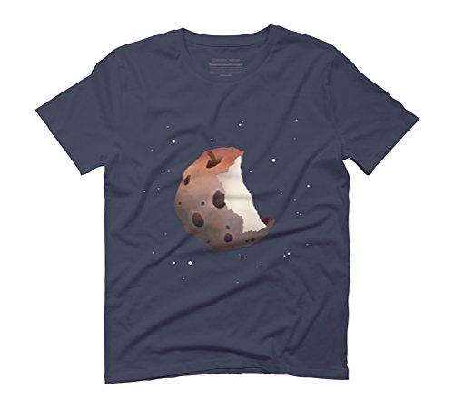 The Destruction of Entitlement Men's Graphic T-Shirt - Design By Humans Navy