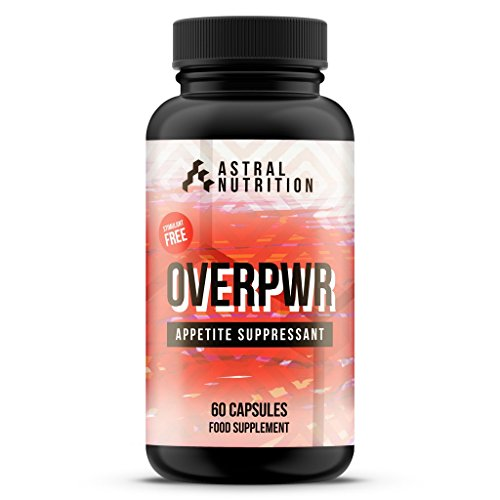 Overpwr Appetite Suppressant – 1 Month Supply | Stops Hunger | Promotes Feeling of Fullness | Burns Fat | Stimulant-Free | Speeds Up Weight Loss