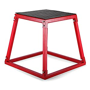 BuoQua Plyo Box Soft Plyometrische Jump Box 12 Zoll 18 Zoll 24 Zoll Anti-Rutsch Plattform Tragbar Sprungbox für Jump Training Beintrainer