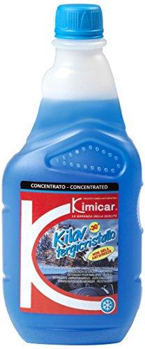 Kimicar 036T503 Kilav Liquido Lavacristalli Antigelo, -30°C, 500 ml, Azzurro, Set di 1
