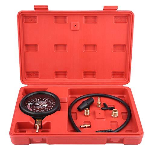 Motor Unterdruck Tester, Universal Auto Motor Vakuum Kraftstoffpumpe und Vakuum-Tester Messgerät Vergaser-Druckdiagnose