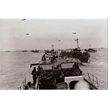 507023 LCIs En Route To France 1944 Milne DND PA 135966 A4 Photo Poster Print 10x8