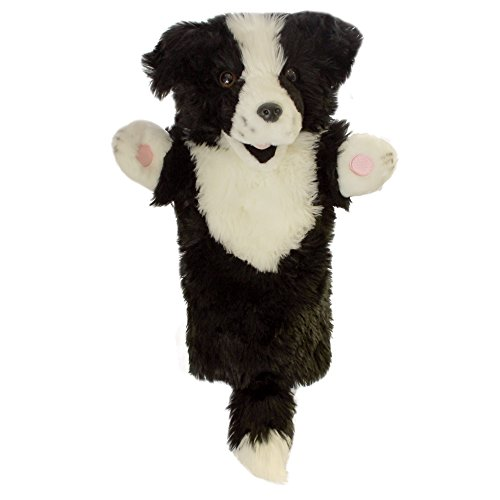 The Puppet Company - Long Sleeves - Border Collie Hand Puppet
