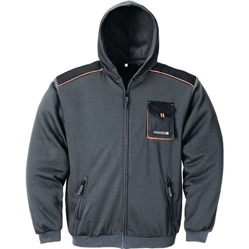 Preisvergleich Produktbild Terratrend Job Sweatjacke dunkelgrau / schwarz Größe M