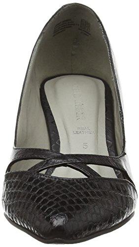 Gerry Weber Linette 02, Chaussures à talons - Avant du pieds couvert femme Noir - Noir