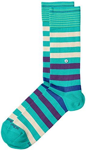 Burlington Herren Socken Blackpool Mehrfarbig (Emerald 7690)