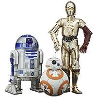 Kotobukiya SW114–Pack de 3figuras–Star Wars episodio 7–C3PO/R2-D2/BB-8