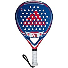 adidas V5 Pala de pádel de Tenis, Hombre, Azul, ...