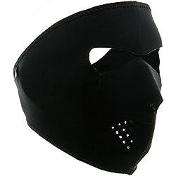 Trendyest Máscara de Neopreno Reversible 2 en 1 para Ciclismo, Senderismo, Caza, Cara Completa