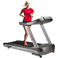 Sportstech F65 professional treadmill with display a control 8.5 HP DC motor, 25km/h top speed, 15% incline, extra wide 1600x600mm running surface, HRC function, 99 programs