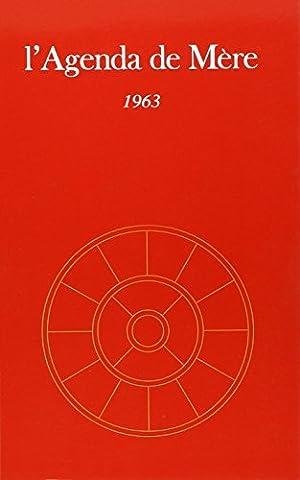 AGENDA DE MERE T4 1963 NE