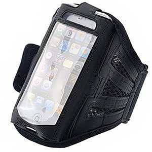 iPhone 5 Strong ArmBand Case Cover For SPORTS GYM BIKE CYCLE JOGGING, Tie Phone With Your Arm - by KING OF FLASH
