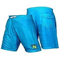 BOOM Prime Azul Unisex de fútbol entrenamiento en el gimnasio pantalón corto de boxeo pantalón corto de deporte de squash, Bádminton (2unidades), mujer hombre, azul