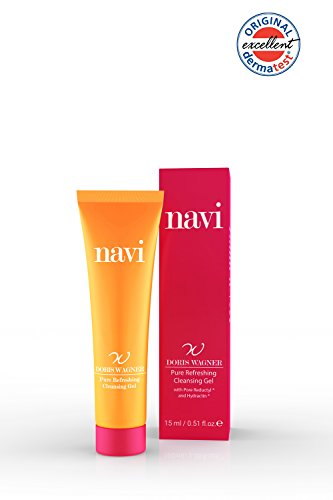Navi Pure Refreshing Cleansing Gel Reisegröße 1 x 15 ml, mild mit Vitamin E