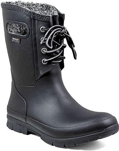 Bogs Amanda Plush 39 EU Black (Bogs Stiefel Frauen)
