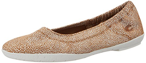 Camel Active Bamboo 70, Ballerines femme Marron (Brandy 18)