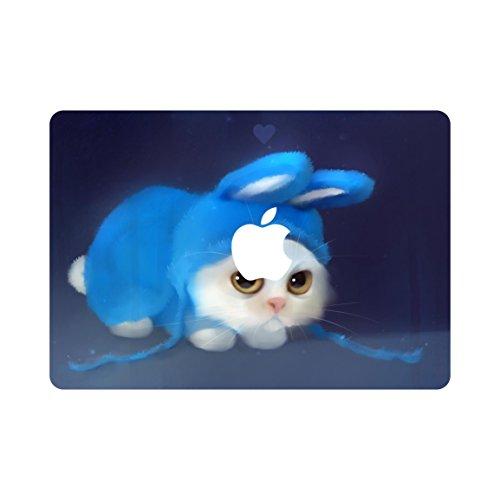 kikhorse Cartoon Kollektion Hochwertige Hartschale Ultra Dünn Snap Case Schutzhülle Für MacBook Pro 13 Zoll Retina – ohne CD-Laufwerk: (Modelle: A1502 / A1425) (Böse Katze)