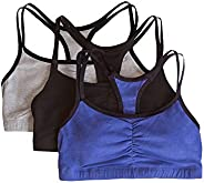 Fruit of the Loom Women's Cotton Pullover Sport Bra(Pack o