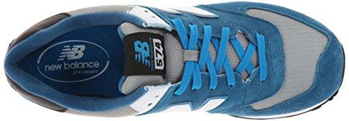 New Balance Ml574 D, Herren High-Top Sneaker Blau (cpd Blue/grey)