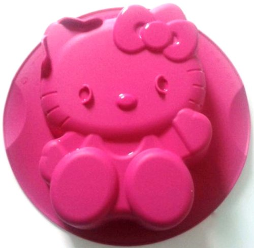1a TUPPER Backform SILIKON HELLO KITTY --- pink --- Einfrieren Mikrowelle Backofen