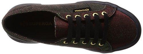 Superga Donna scarpe sportive nero/rosso/verde