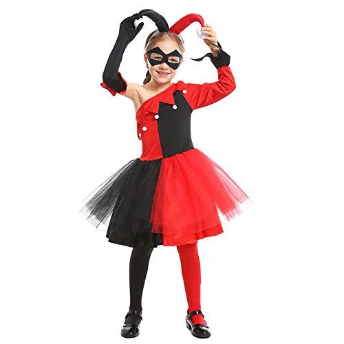 Halloween Karneval Kostüm Cosplay Overall Kostüm Für Kinder Mädchen Lustige Clown - Baby Mädchen Anime Kostüm