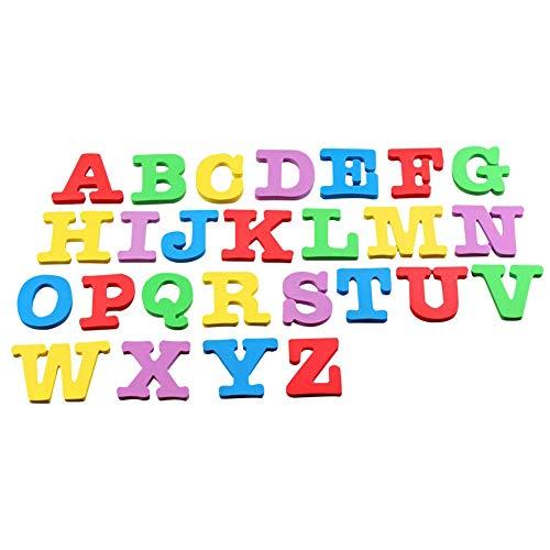 Tasquite Lernressourcen Magnetic Learning Letters - Großbuchstaben, zum Kühlschrank für das Küchen-Wohnzimmer im Büro