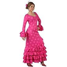 Atosa - Disfraz de sevillana para mujer, talla L (M/L) (97163)