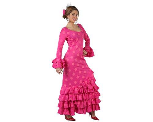 Imagen de atosa  disfraz de sevillana para mujer, talla l m/l  97163