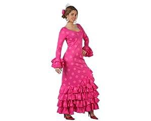 Atosa-97163 Disfraz Flamenca, Color rosa, M-L (97163