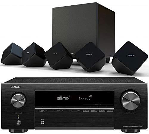 DENON Equipo AV AVR-X250BT+ Denon SYS2020 Altavoces Home Cinema
