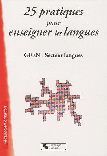 25 pratiques pour enseigner les langues